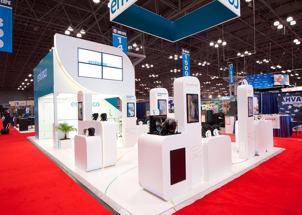Exhibition Booth Rentals : Double deck trade show displays