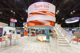 Double Deck Exhibit - Hovus at Process expo 2015