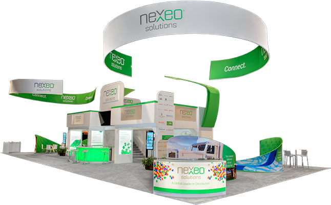 nexeo double deck exhibit