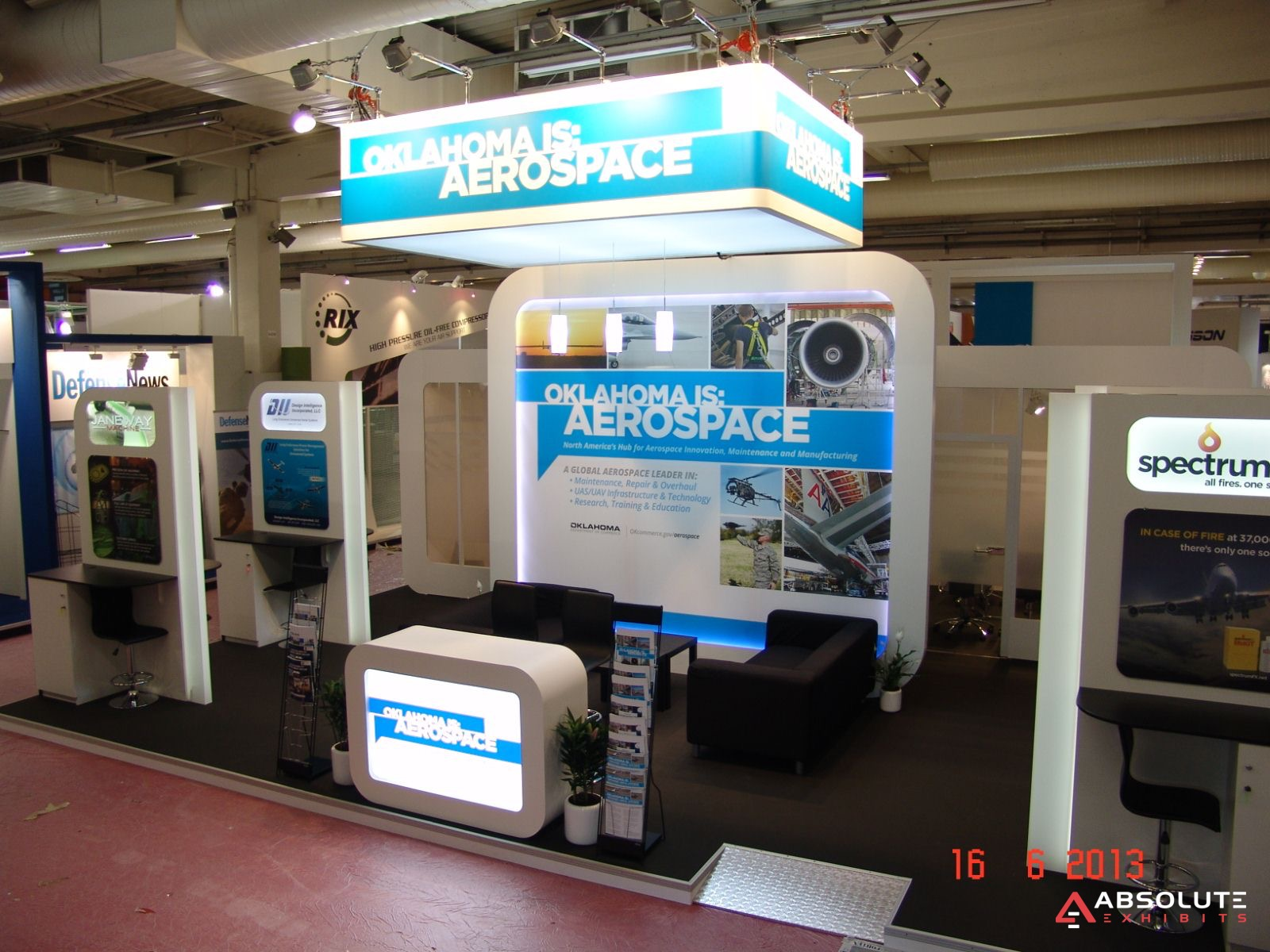 Custom exhibit rentals trade show displays trade show for Chambre commerce international paris