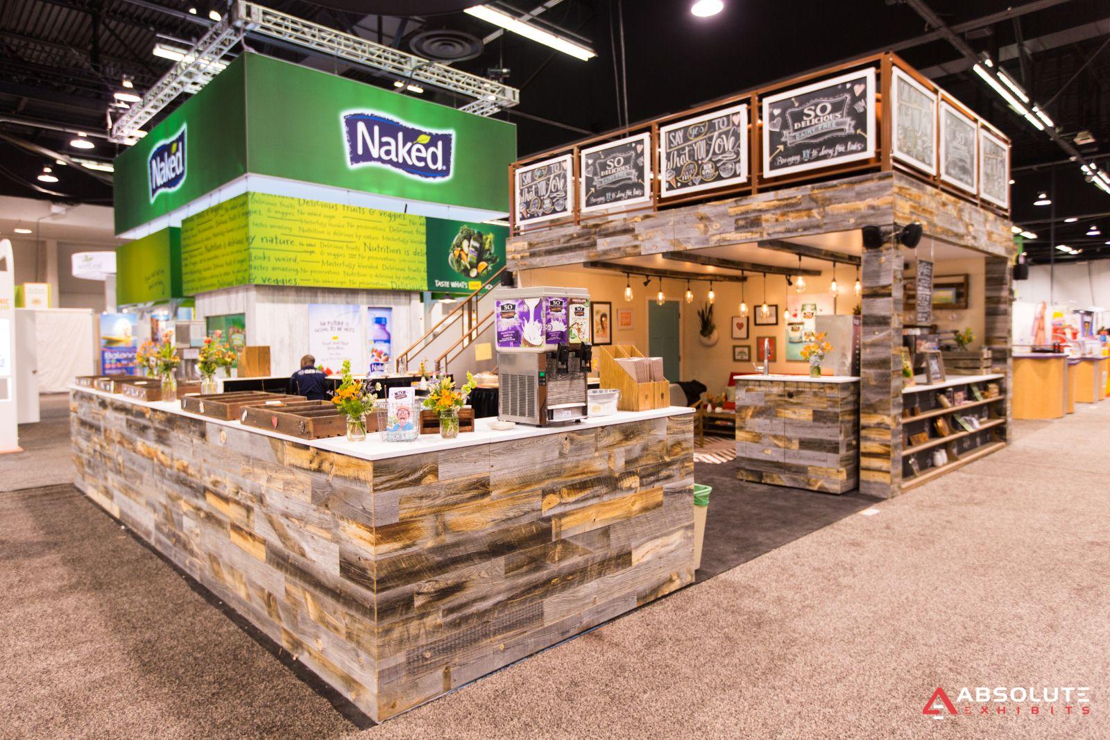 Tradeshow Booth : Custom exhibit rentals trade show displays