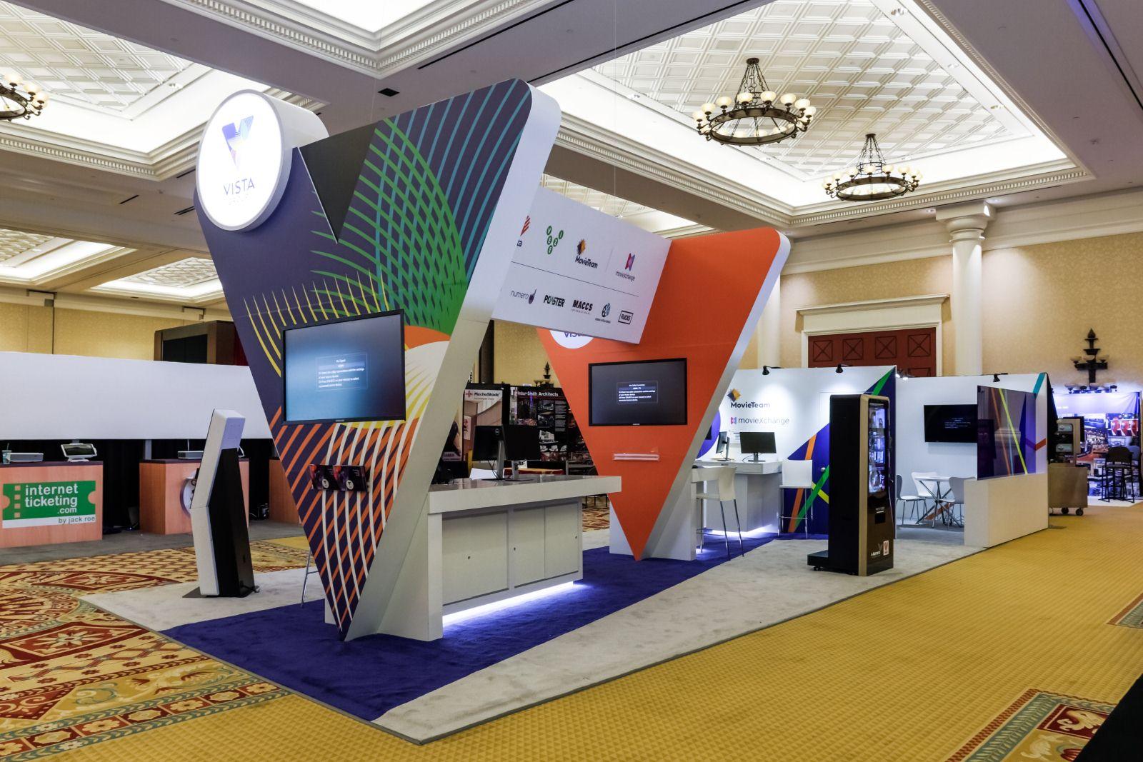 Exhibition Booth Displays : Custom exhibit rentals trade show displays