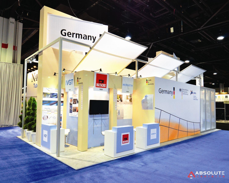 Exhibition Booth In Spanish : Pavilion exhibit rentals trade show displays