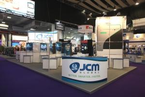Japan Cash Machine (JCM) at ICE 2011 - London, UK