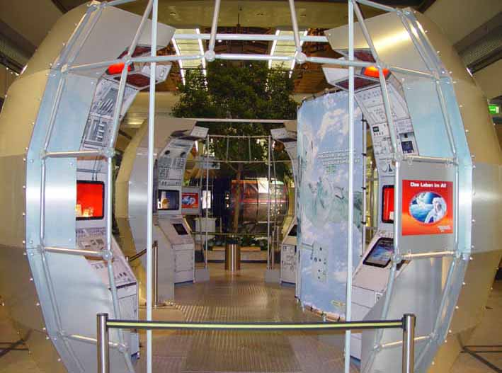 Explorers Space Exhibit