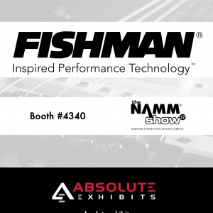 fishman, namm show, hero image