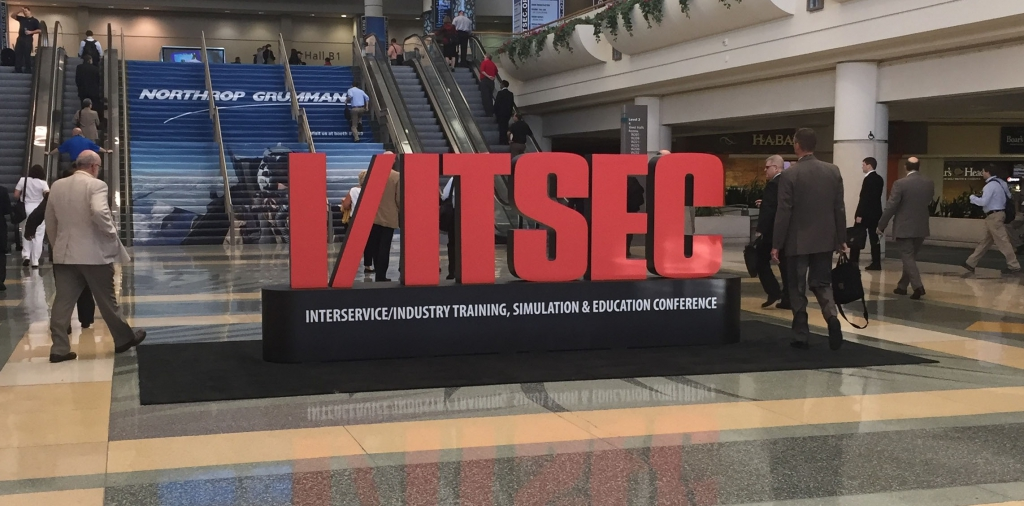IITSEC 2016 - Welcome Sign