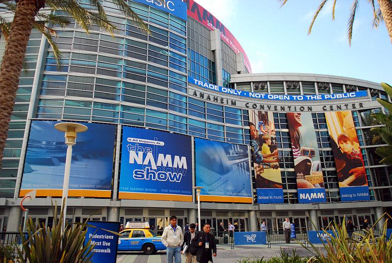 anaheim convention center, namm show
