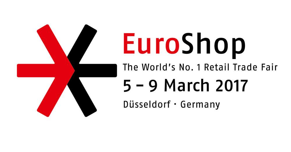 euroshop 2017, dusseldorf, germany, logo