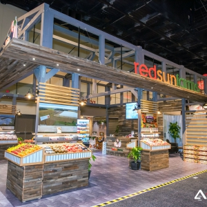 red sun farms, pma fresh summit 2016, custom exhibit
