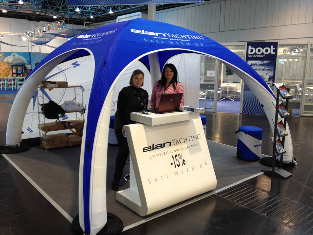 Portable Exhibition Tents : Portable inflatable event tents trade show displays
