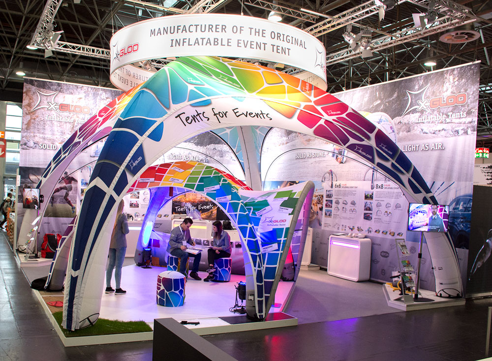 Inflatable Trade Show Displays