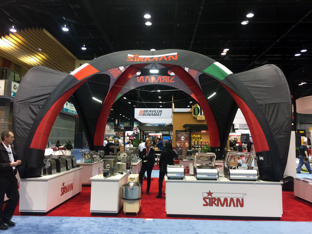 Indoor Inflatable Trade Show Display