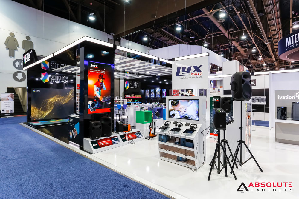 Lyx Pro - Product Display and Demo Area