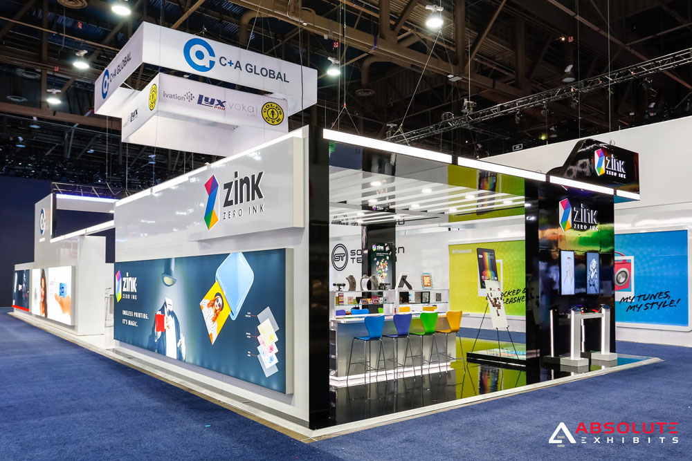 Zink - 20' Fabric Lightboxes with Backlighting