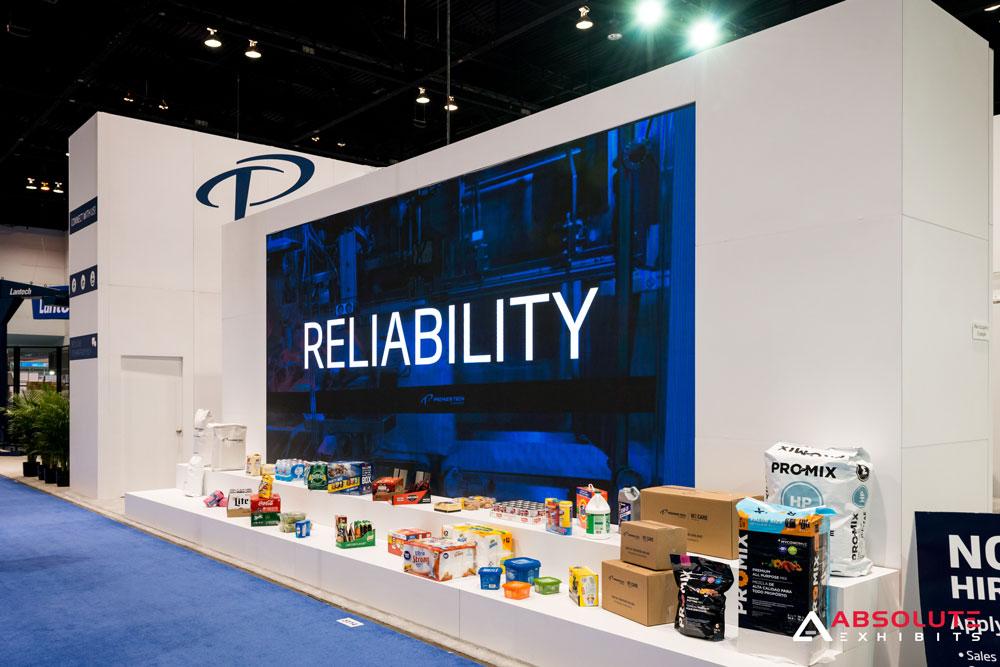 Trade Show Booth Equipment : Av equipment rental trade show displays
