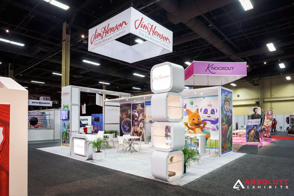 Exhibition Stand Glass : Client spotlight the jim henson company at licensing expo