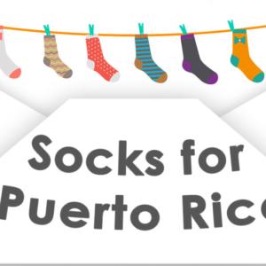 socks, envelope, puerto rico