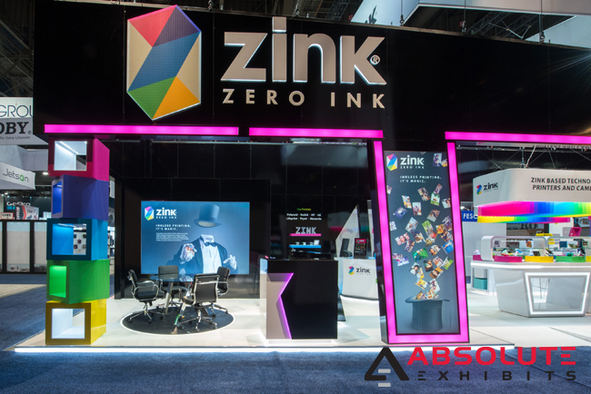 Zink trade show display