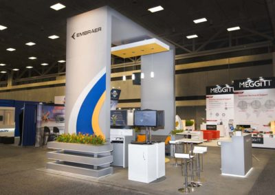 Embraer booth 1ae