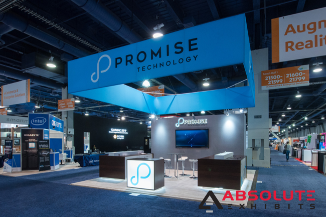 20x20 tradeshow booth