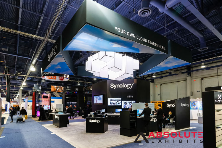 Synology trade show booth
