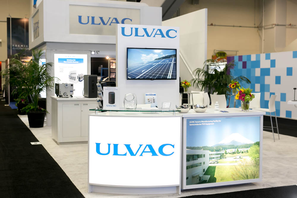 Trade Show Booth Lounge : Double deck trade show displays take your exhibit to the next level