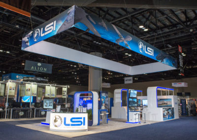 LSI trade show exhibit