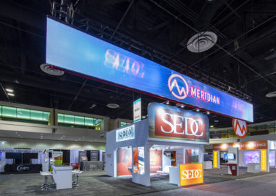 SEDC trade show exhibit