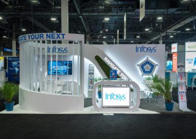 Infosys trade shows