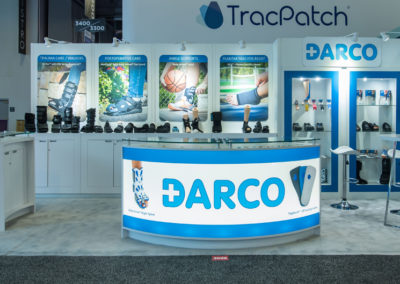 Darco trade show exhibit