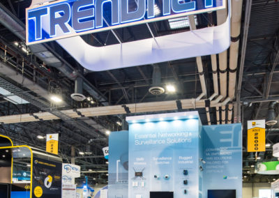 Trendnet trade show exhibit