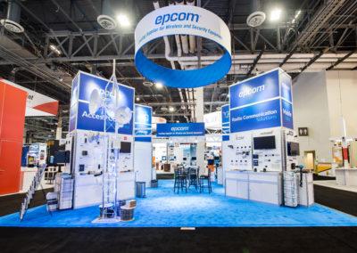 Epcom trade show booth