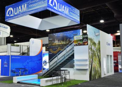 UAM trade show display