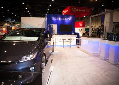 SEMA trade show booth