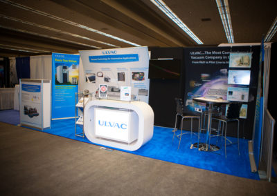 Ulvac Absolute Exhibits trade show displays