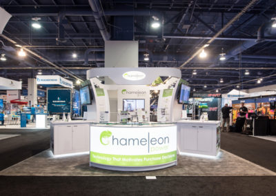 Chameleon Power trade show exhibit