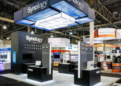 Synlogy security trade show exhibi