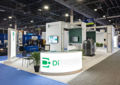 DiTronics trade show exhibit