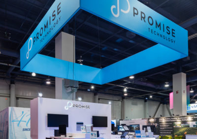 Promise NAB trade show exhibit
