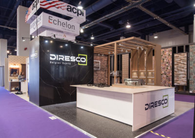 Diresco trade show display