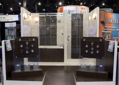 Glassbuild trade show displays