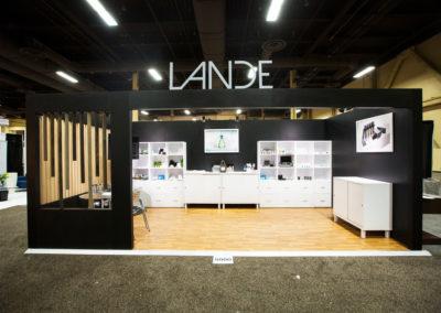Lande trade show exhibit
