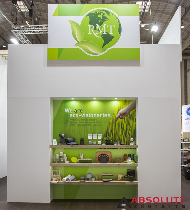 RMT trade show display