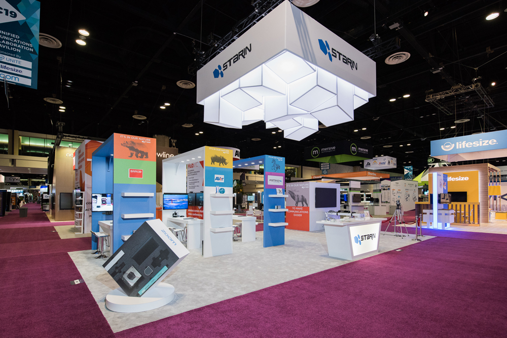 Starin Marketing Absolute Exhibits fabrication trade shows