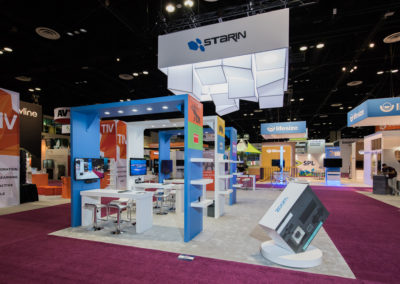 Starin Absolute Exhibits trade show rentals and purchases