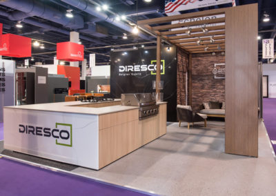 Diresco trade show exhibit
