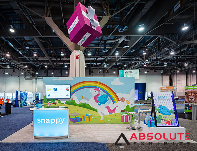 Snappy Gifts trade show exhibit design