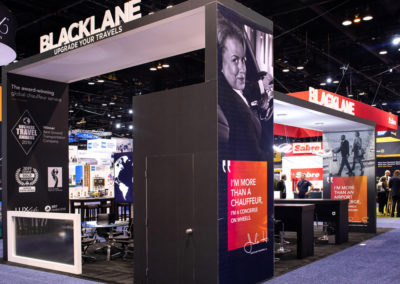 Blacklane trade show exhibit