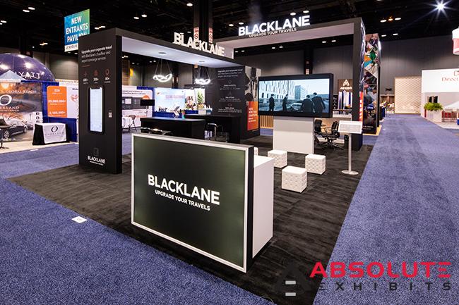 Blacklane trade show exhibit